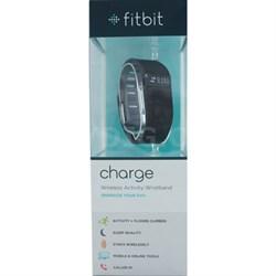 Charge Wireless Activity + Sleep Tracker Wristband - Black - Large - OPEN BOX