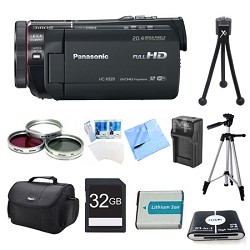 HC-X920K 3MOS Ultrafine Wi-Fi HD Camcorder 32GB Bundle