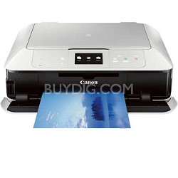 PIXMA MG7520 Color Wireless All-in-One Inkjet Printer - White