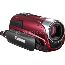 "VIXIA HF R20 8GB Flash Dual SD 1080p HD Red Camcorder w/ 3.0"" Touchscreen"