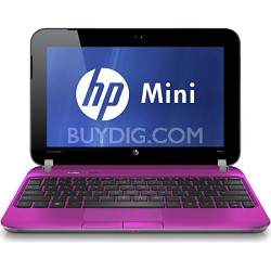 "Mini 10.1"" 210-3060NR PC (Luminous Rose) - Intel Atom Processor N455 - OPEN BOX"