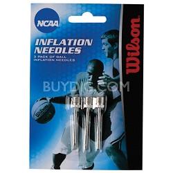 NCAA 3-Pack Ball Air Pump Inflation Needles
