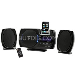 JiMS-260i Wall-Mountable Docking Digital Music System with CD