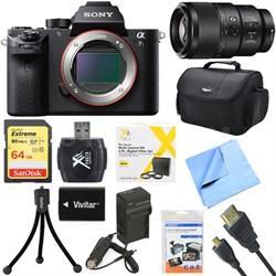 a7S II Full-frame Mirrorless Interchangeable Lens Camera Body 90mm Lens Bundle