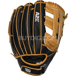 Wilson A2K Fastpitch Infield Softball Glove - 12in - Right Hand Throw