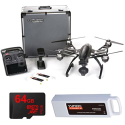 Typhoon Q500 4K Quadcopter Drone UHD Kit with 2 Batteries, Case, 64GB Card