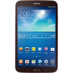 Galaxy Tab 3 (8-Inch, Gold-Brown) - OPEN BOX