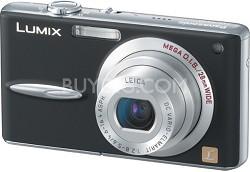 DMC-FX30K Lumix 7.2 mega-pixel Digital Camera (Black)