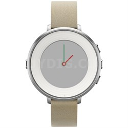 Time Round 14mm Smart Watch for iPhone and Android Devices - Silver (601-00046)