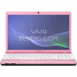 VAIO VPCEH23FX - 15.5 Inch Laptop Pentium B950 Processor (Pink)