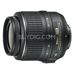 18-55mm f/3.5-5.6G VR AF-S DX Nikkor Zoom Lens - FACTORY REFURBISHED