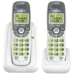 DECT 6.0 2-Handset Cordless Phone and Answering System - CS6114-2