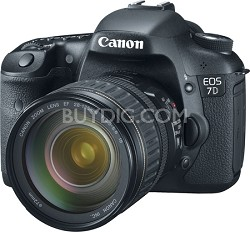 EOS 7D 18 MP  Digital SLR with 28-135 Lens