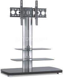 "PFFP2b -  A/V Stand for 30"" to 50"" flat panel TVs w/ 3 shelves (Black)"