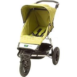 Urban Single Jogging Stroller, Moss Green dot Discontinued.