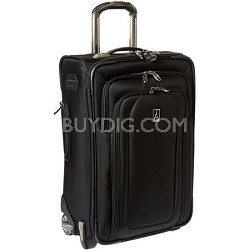 """Luggage Crew 9 22"""" Expandable Rollaboard Suiter Bag (Black) - 407122201"""
