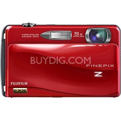 FINEPIX Z700EXR 12 MP Digital Camera (Red)