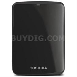 Canvio Connect 2TB Portable Hard Drive, Black (HDTC720XK3C1)