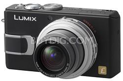 DMC-LX1K (Black) 8.4 MP Digital Camera with 4x Optical Zoom