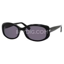 Black Y1 Gray Lens Sunglasses