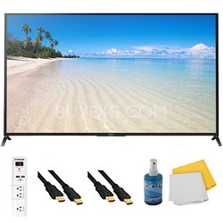 "60"" 1080p 120Hz Smart 3D LED HDTV Plus Hook-Up Bundle - KDL60W850B"