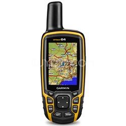 GPSMAP 64, Worldwide Handheld GPS Navigator - 010-01199-00