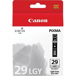 PGI-29 LGY - LUCIA Series Light Gray Ink Cartridge for Canon PIXMA PRO-1 Printer