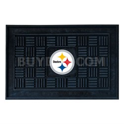 NFL Pittsburgh Steelers Vinyl Heavy Duty Door Mat