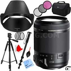18-200mm Di II VC All-In-One Zoom Lens for Canon Mount w/ Pro Accessory Bundle
