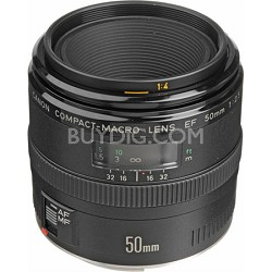EF 50mm F/2.5 Macro Lens, With Canon 1-Year USA Warranty