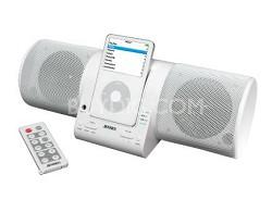 JiSS-20WH White iPod MP3 Dock Docking Speaker Station w/FM Radio