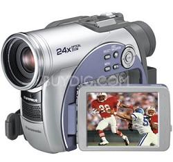 VDR-M53 DIGA DVD Palmcorder MultiCam Camcorder with 24x Optical Zoom