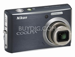 Coolpix S610c Digital Camera (Midnight Black)
