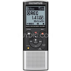 VN-8100PC Digital Voice Recorder 142600 (Silver and Black) REFURBISHED
