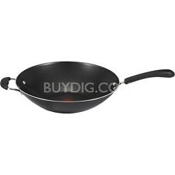 Specialty 14-Inch Nonstick Jumbo Wok - Black