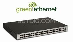 Web Smart 48-Port 10/100/1000 + 4 combo SFP Switch