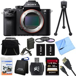 a7S II Alpha 7S II Full-frame Mirrorless Interchangeable Lens Camera 32GB Bundle