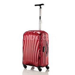 "Black Label Cosmolite Hardside 20"" Red Carry On Spinner Suitcase"