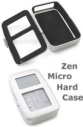 Aluminum hard case for Zen Micro