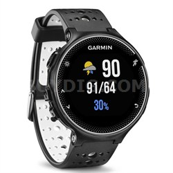 Forerunner 230 GPS Running Watch, Black and White