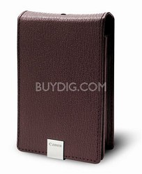 PSC-1000 Burgundy Deluxe Leather Case for SD1200 IS, SD1100 IS, SD960 IS, SD770