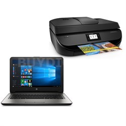 "14-an010nr AMD Quad-Core 4GB 14"" Notebook with Officejet 4650 Wireless Printer"
