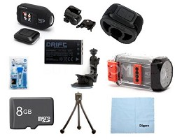 Drift HD Full 1080p High Definition Helmet Action Camera Savings Bundle