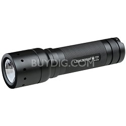 880006 T7 Tatical LED Flashlight - Black