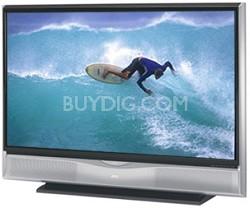 """HD-56G886 HD-ILA 56"""" HDTV LCoS Rear Projection TV (Silver)"""