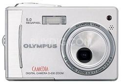 D-630 5MP Ultra-Slim Digital Camera