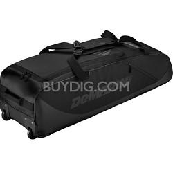 D-Team Wheeled Bat Bag, Black