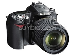 D90 DX-Format Digital SLR Outfit w/ 18-105mm DX VR Lens