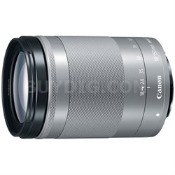 EF-M 18-150 f/3.5-6.3 IS STM Zoom Lens for EOS M Series Cameras - Silver