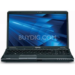 "Satellite 16.0"" A665-S6089 Notebook PC Intel Core i5-460M Processor"